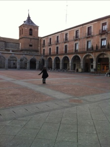 plaza ayuntamiento ávila